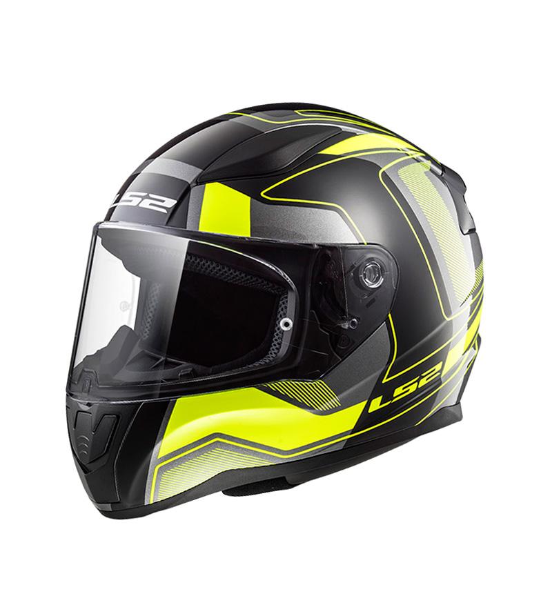 Comprar LS2 Helmets Capacete IntegralRapid FF353 Matt Black Carrera HV Amarelo