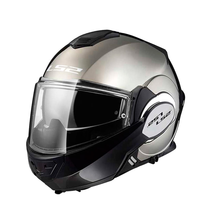 Comprar LS2 Helmets Casco modular Valiant FF399 Solid Chorme