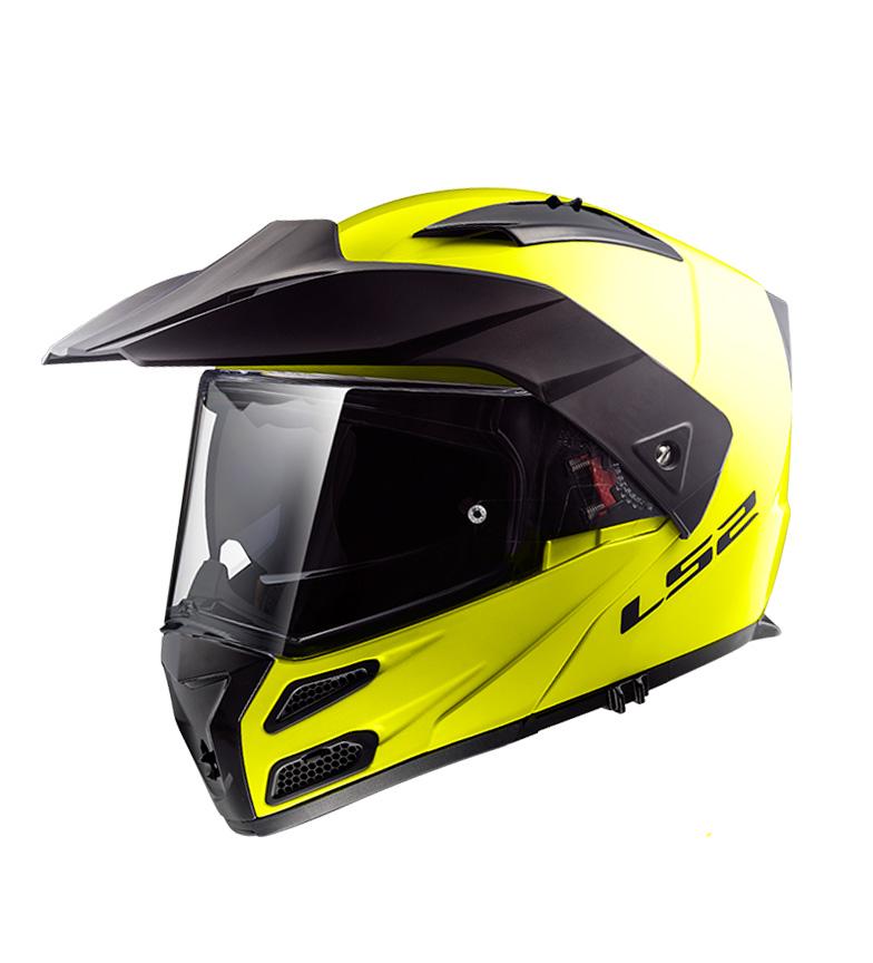Comprar LS2 Helmets Casco modular Metro Evo FF324 Solid H-V Yellow