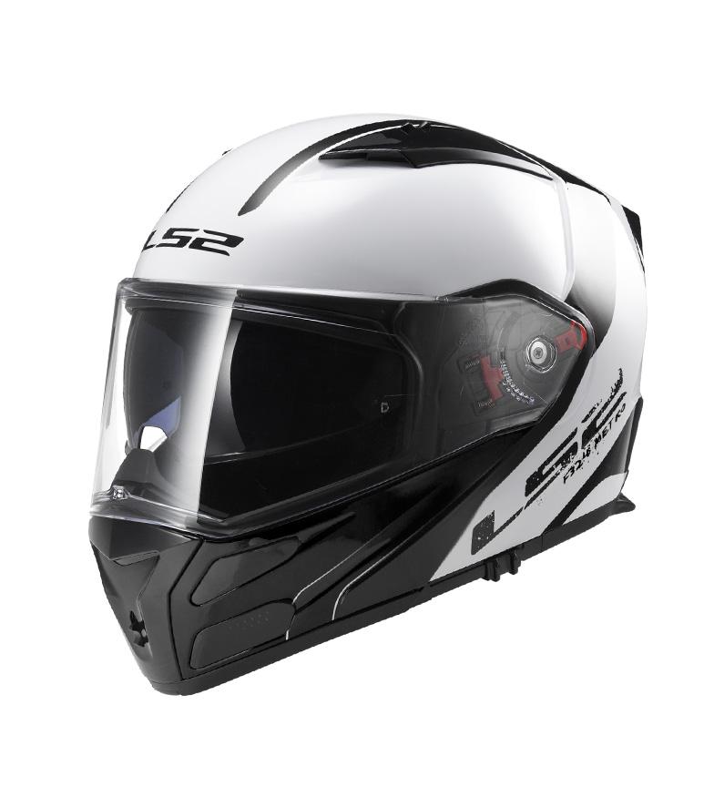 Comprar LS2 Helmets Casco modular Metro Evo FF324 Sub Black Light