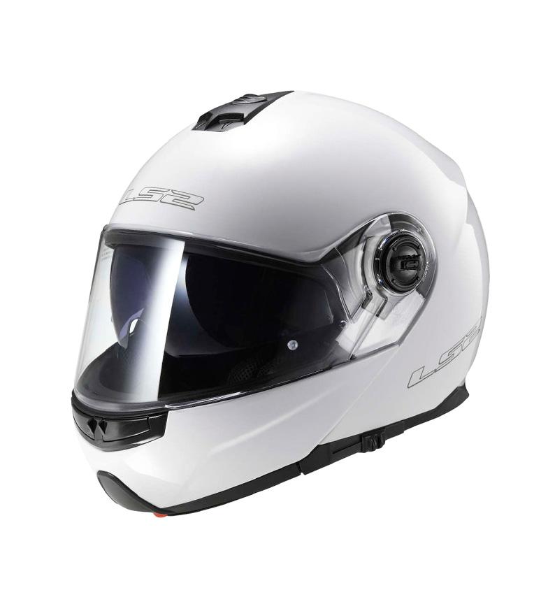 Comprar LS2 Helmets Casco modular Strobe FF325 Solid White