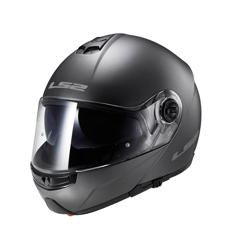 Comprar LS2 Helmets Casco modular Strobe FF325 Solid Matt Titanium