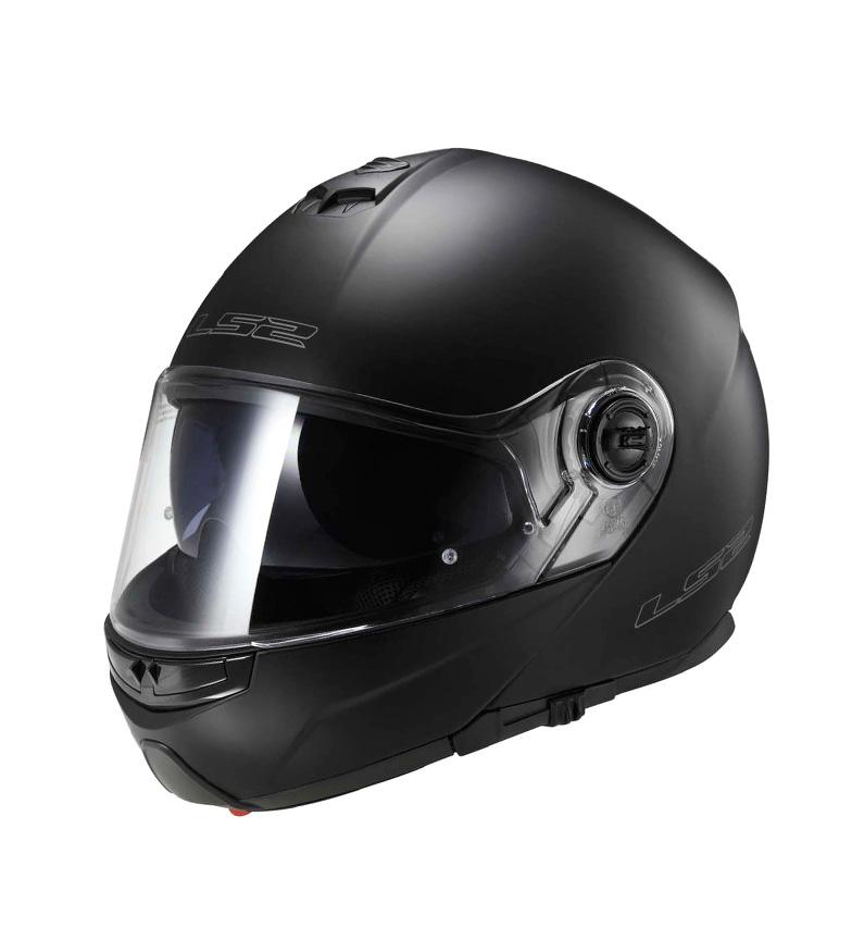 Comprar LS2 Helmets Capacete modular sólida Matt Black Strobe FF325