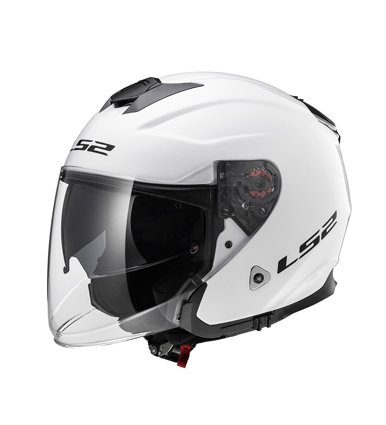 Comprar LS2 Helmets Casco Jet Infinity OF521 Solid White