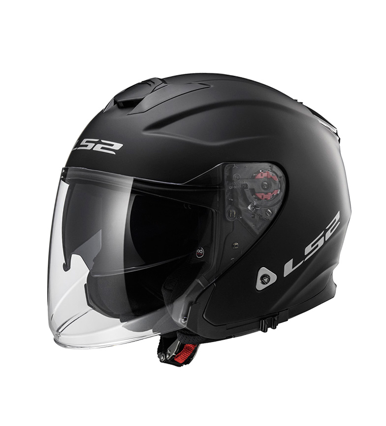 Comprar LS2 Helmets Capacete Jet Infinity OF521 Sólido Preto Mate