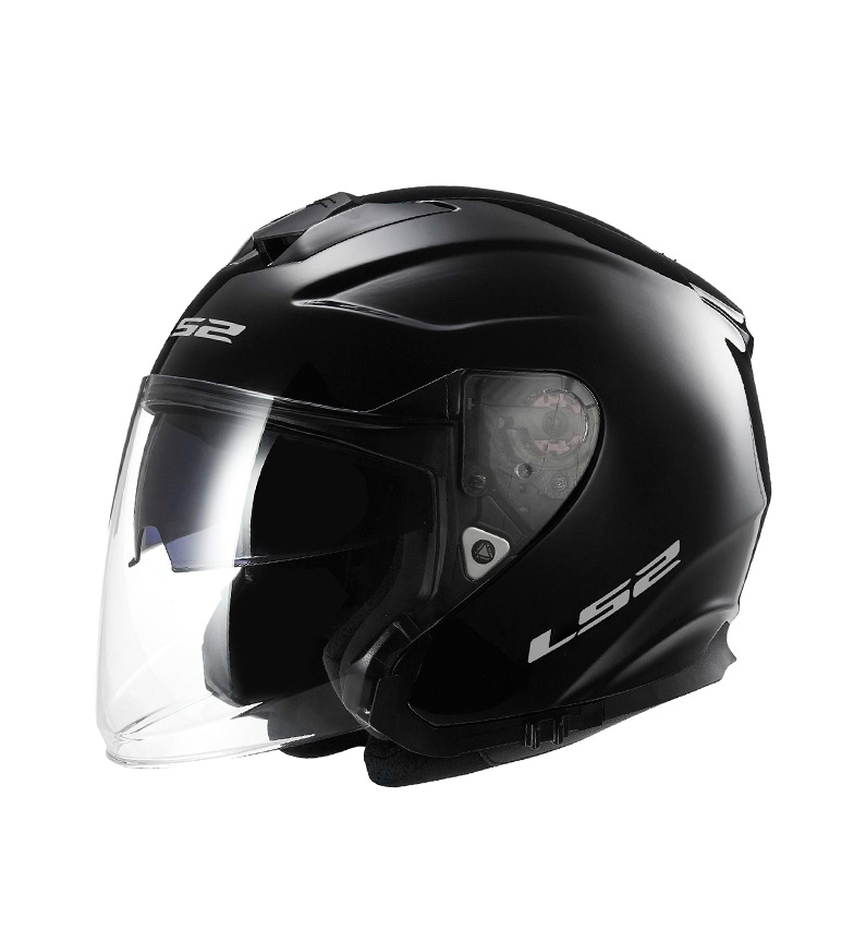 Comprar LS2 Helmets Capacete Jet Infinity OF521 Sólido Preto