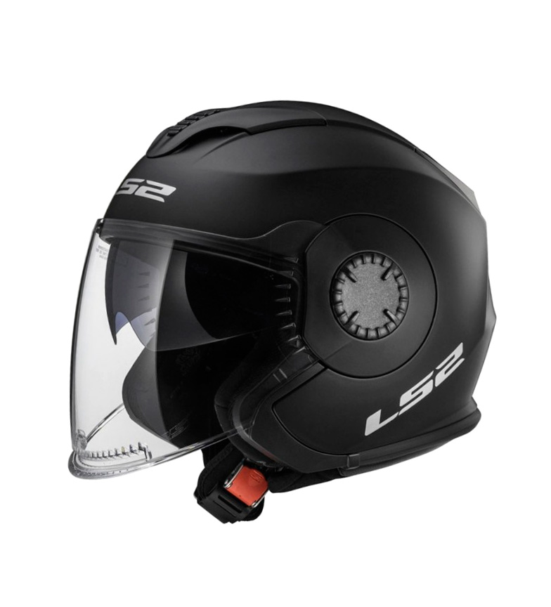 Comprar LS2 Helmets Helmet Jet Verso OF570 Solid Black
