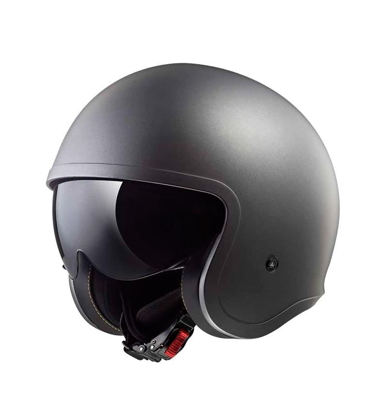 Comprar LS2 Helmets Casco Jet Spitfire OF599 Solid Matt Titanium