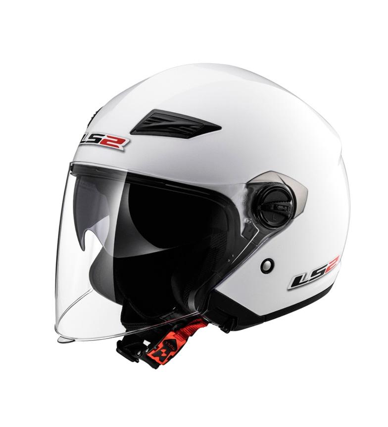 Comprar LS2 Helmets Casque Jet Track OF569 Blanc Uni