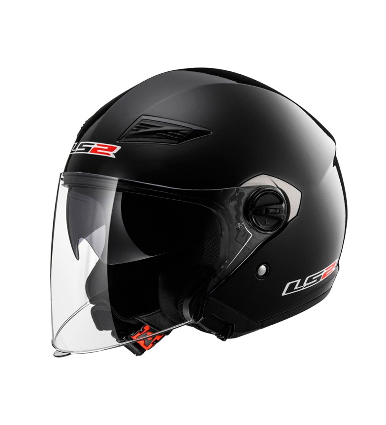 Comprar LS2 Helmets Casco Jet Black solide OF569 Track