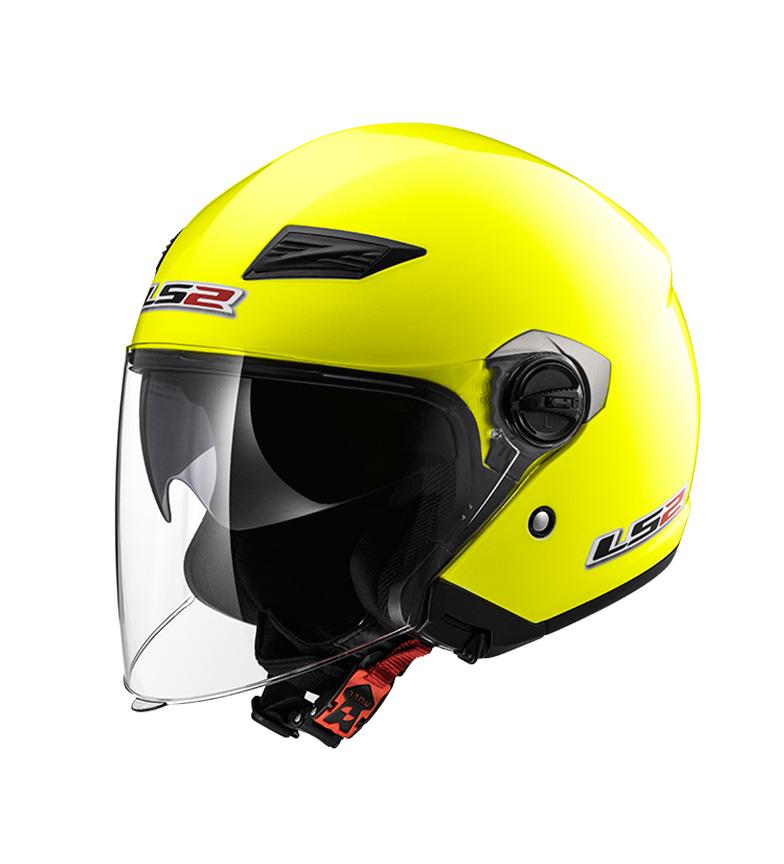 Comprar LS2 Helmets Helmet Jet Track OF569 Solid HV Yellow