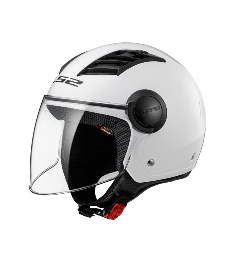 Comprar LS2 Helmets Fluxo de ar de jato de capacete L OF562 branco sólido
