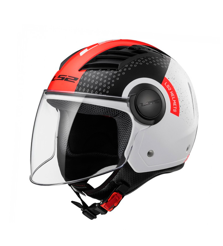 Comprar LS2 Helmets Helmet Jet Airflow L OF562 Condor White Black Red