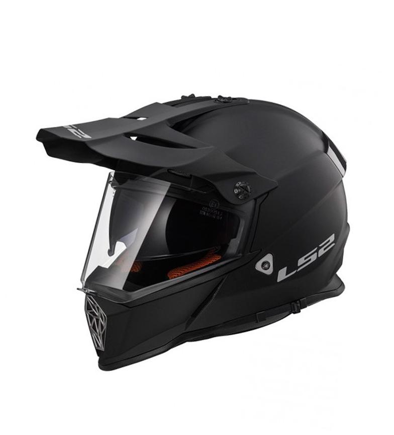 Comprar LS2 Helmets Motocross Helmet Pioneer MX436 Quarterback Matt Black