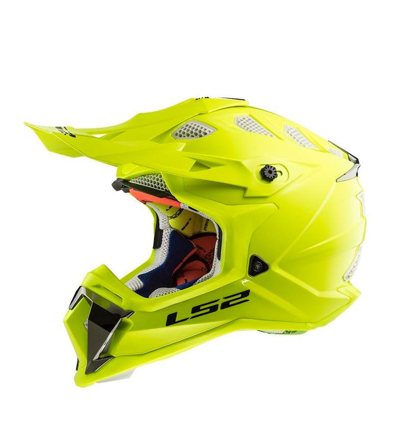 Comprar LS2 Helmets Motocross helmet Subverter MX470 Solid HV Yellow