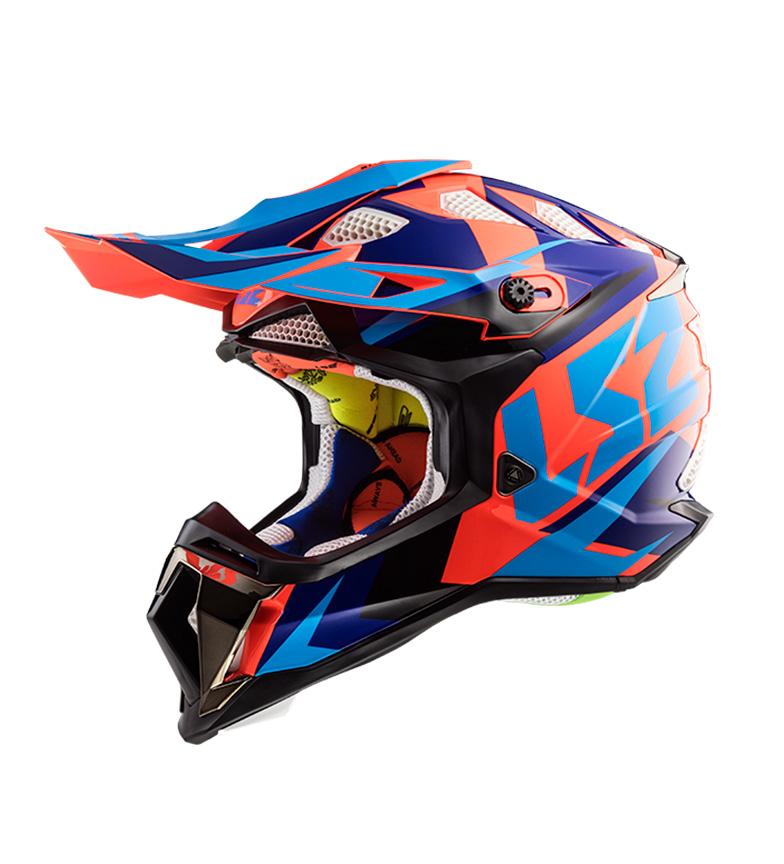 Comprar LS2 Helmets Motocross Subverter MX470 Casco Nimble Black Blue Orange