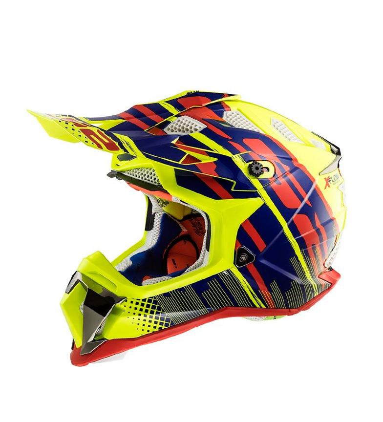 Comprar LS2 Helmets Motocross Helmet Subverter MX470 Bomber HV Yellow Blue Red
