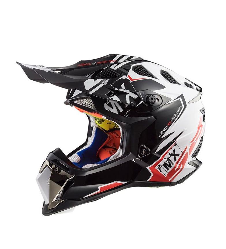 Comprar LS2 Helmets Casco Motocross Subverter MX470 Emperor Black White Red
