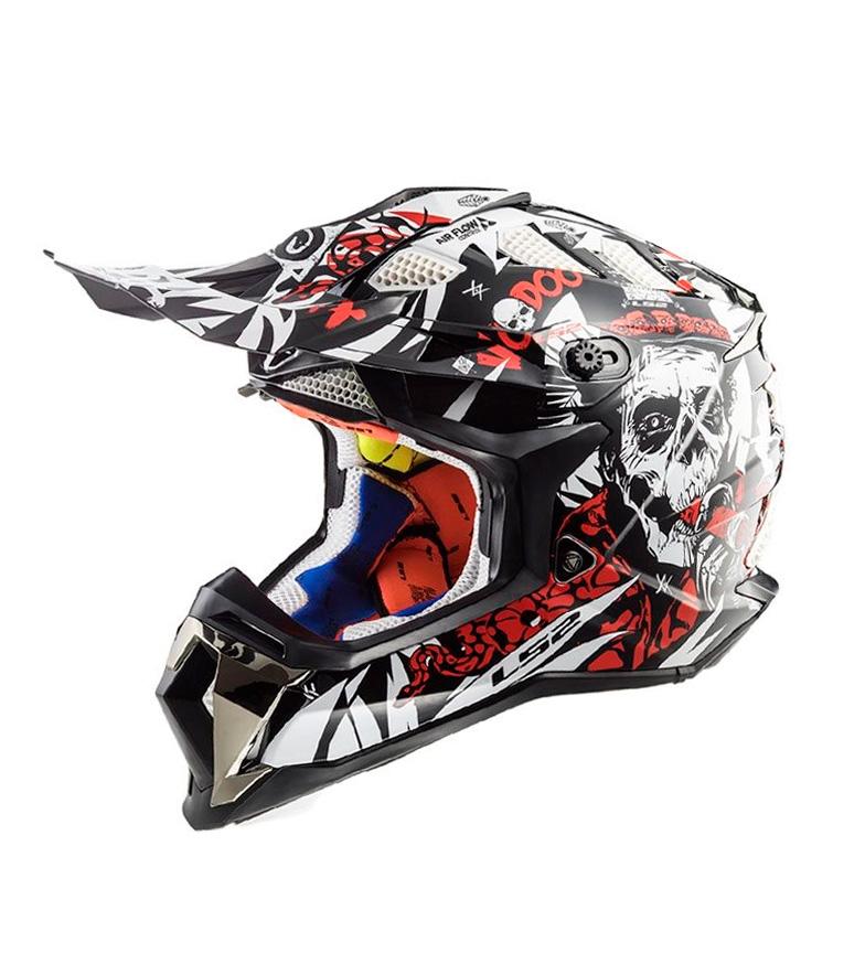 Comprar LS2 Helmets Casco Motocross Subverter MX470 Voovoo Black White Red