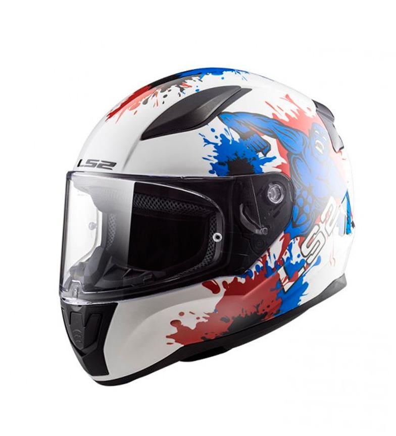 Comprar LS2 Helmets Integral helmet Rapid FF353J Monster White Blue