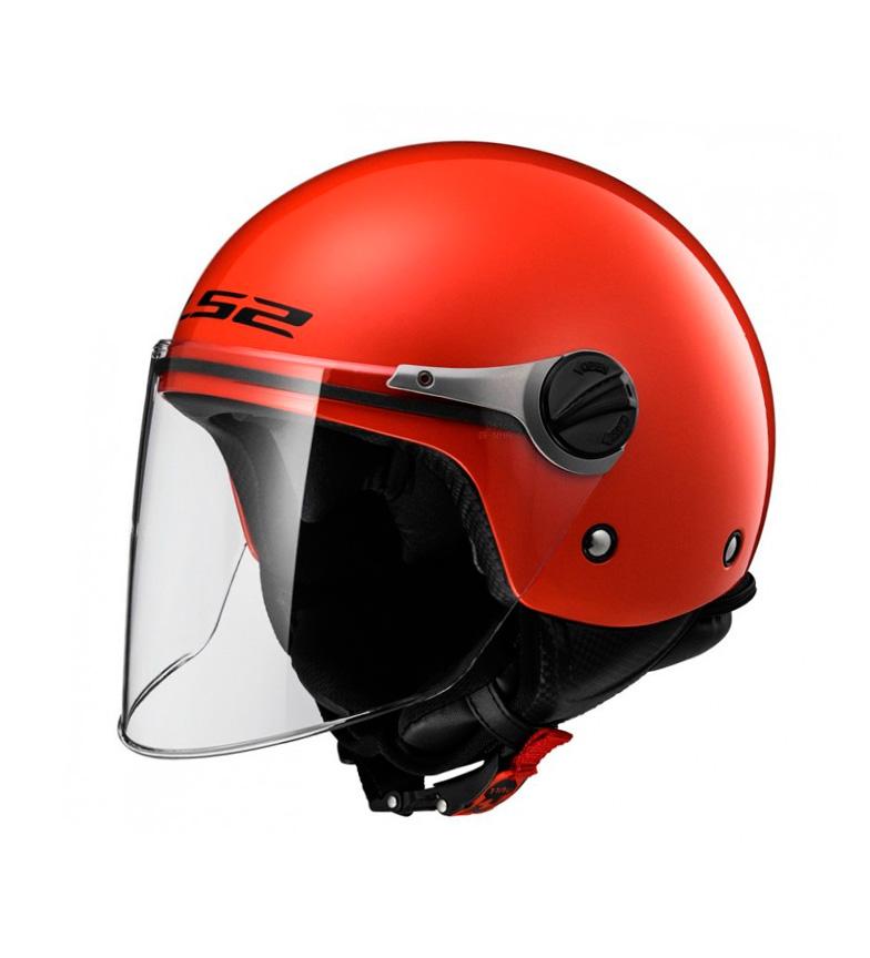 Comprar LS2 Helmets Casco Jet Wuby OF575J Solid Red