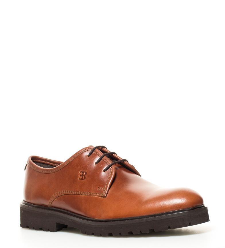 Elio Berhanyer Zapatos de piel 63EB 7 marrón bronce