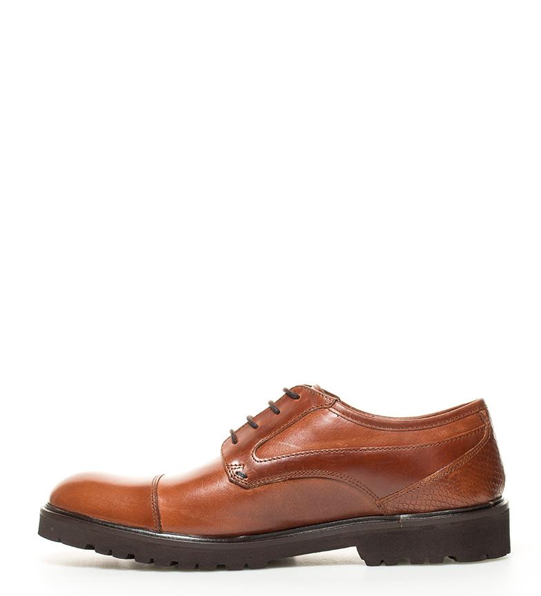 Zapatos Berhanyer Elio 62eb De Marrn 7 Piel Bronce T13FculKJ5