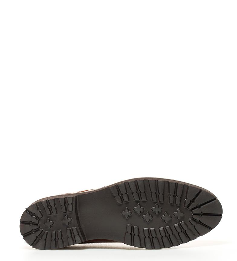 Elio Berhanyer Zapatos de piel 62EB 7 marrón bronce