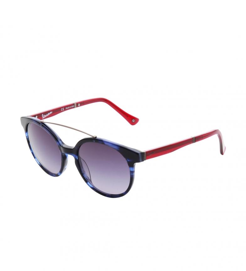 Vespa Gafas de sol VP22OV azul y rojo
