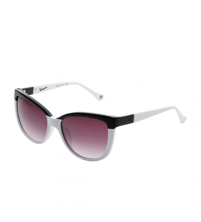 Comprar Vespa VP12PV occhiali da sole neri, bianco