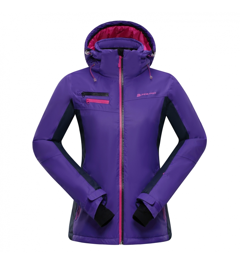 Alpine Pro Chaqueta ski Baudouina violeta