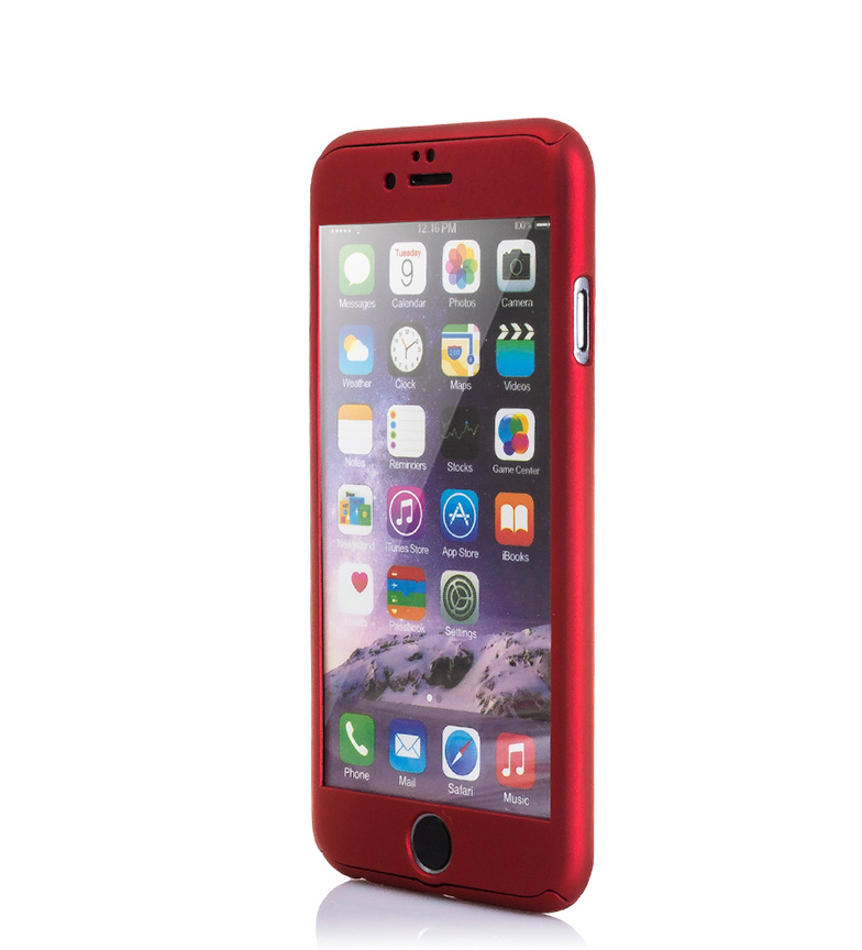 Comprar Tekkiwear by DAM Carcasa rígida Iphone 6 y Iphone 6S rojo