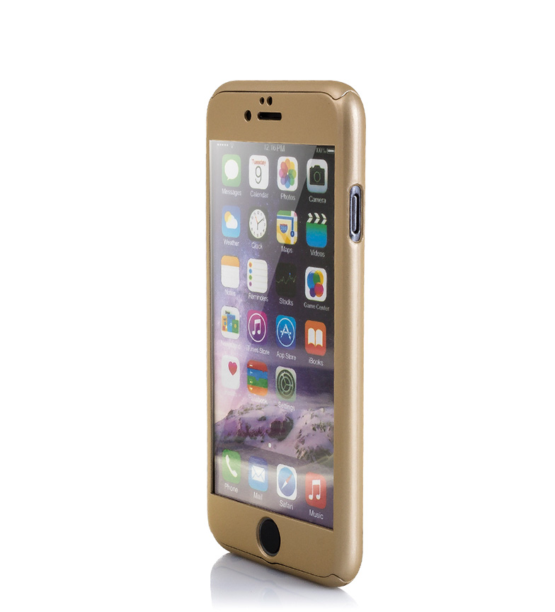 Comprar Tekkiwear by DAM Carcasa rígida Iphone 6 y Iphone 6S dorado