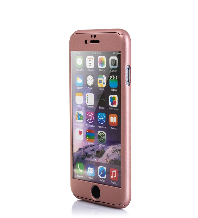 Comprar Tekkiwear by DAM Carcasa rígida Iphone 6 y Iphone 6S oro rosa
