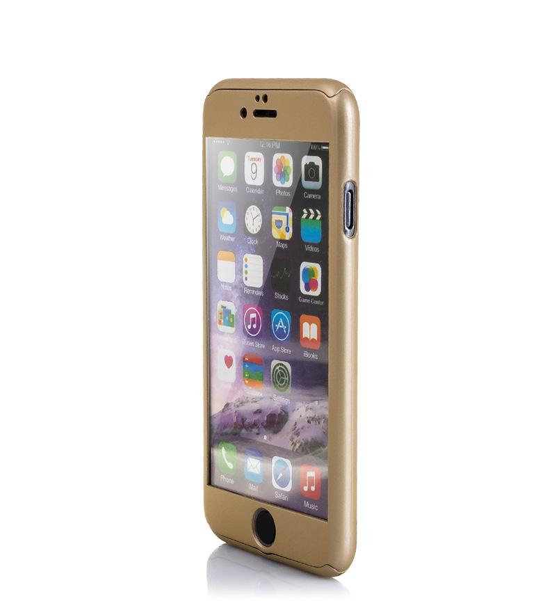 Comprar Tekkiwear by DAM Carcasa rígida Iphone 6 y Iphone 6S Plus dorado