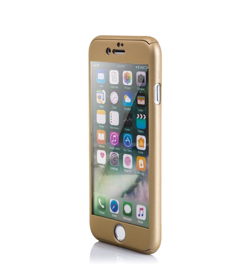 Comprar Tekkiwear by DAM Carcasa rígida Iphone 7 dorado