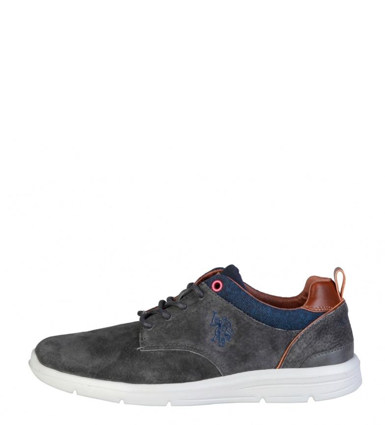 Comprar U.S. Polo Waldo chaussures en cuir gris