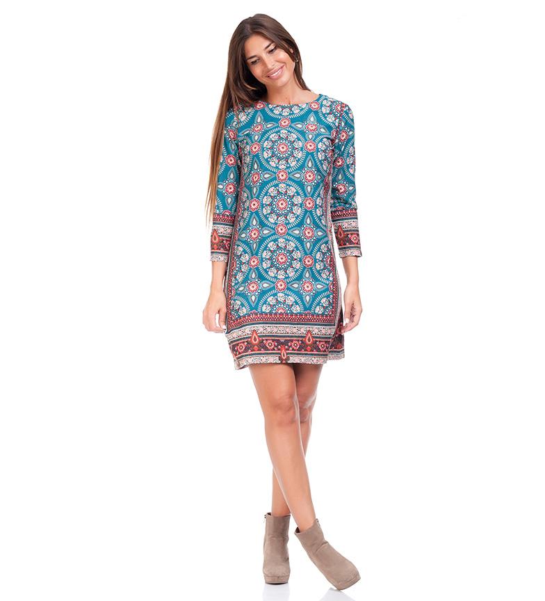 Comprar Peace and Love Robe bleue Iraide
