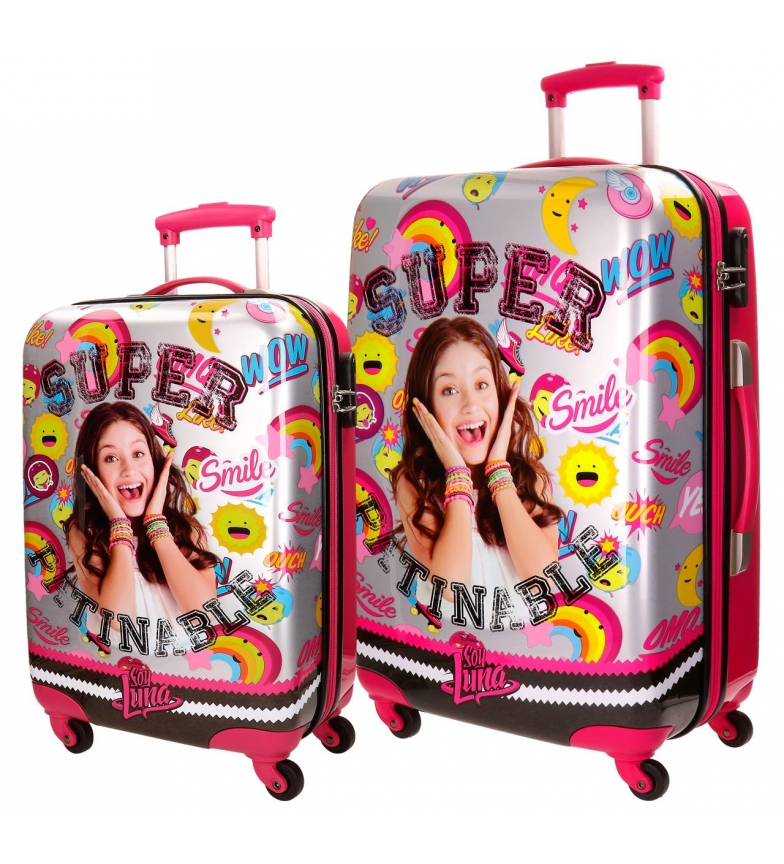 8d9a1d3f2 Soy Luna - Set de maletas rígidas Soy Luna Smile -37x55x20cm- Niños ...