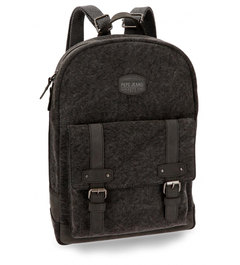 Comprar Pepe Jeans Casual backpack Pepe Jeans Horse Negra portacomputer adaptable to trolley