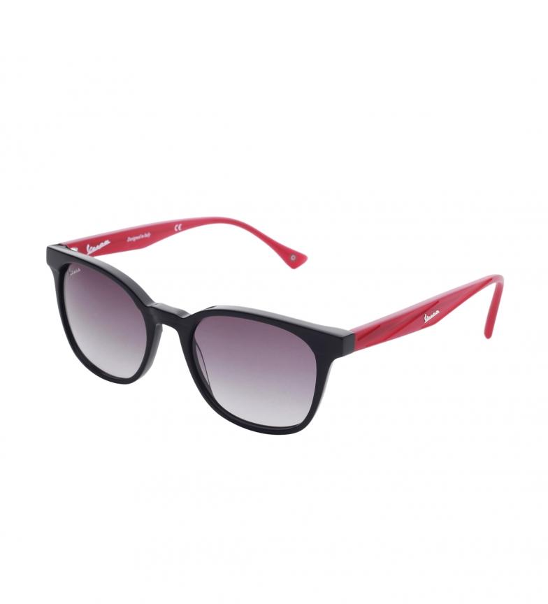 Comprar Vespa VP1202 óculos de sol pretos, vermelho