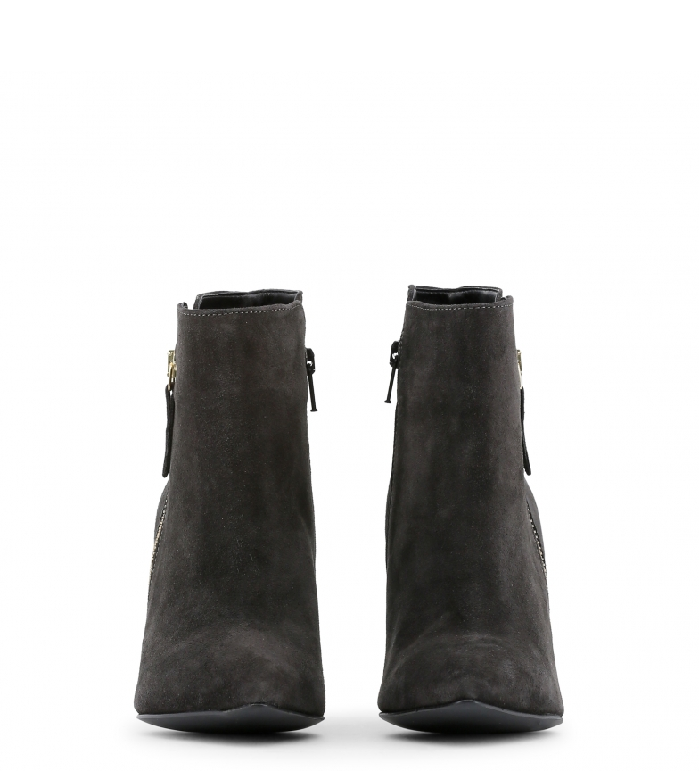 piel negro 5cm Altura Botines tacón color de 9 Arnaldo Toscani tqATff