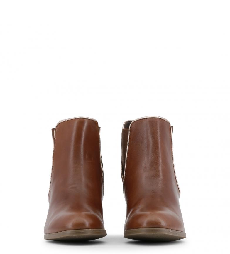 Toscani color tacón Altura 5cm piel 7 marrón de Arnaldo Botines qAxwnRR