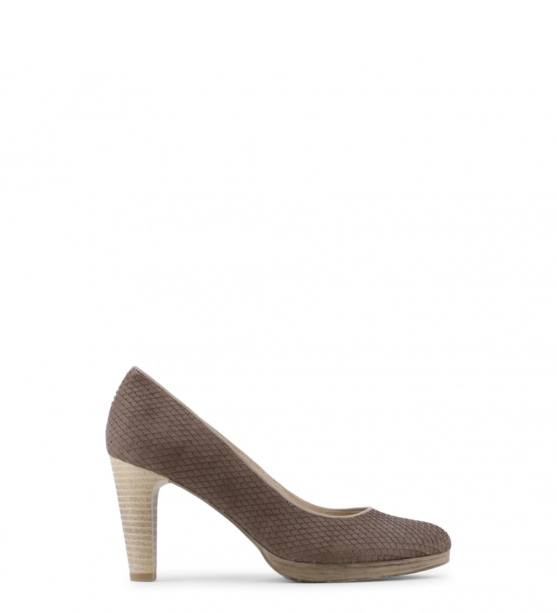 de tacón Arnaldo marrón color Toscani 5cm Zapatos Altura piel 8 x0ZF0AHnqw
