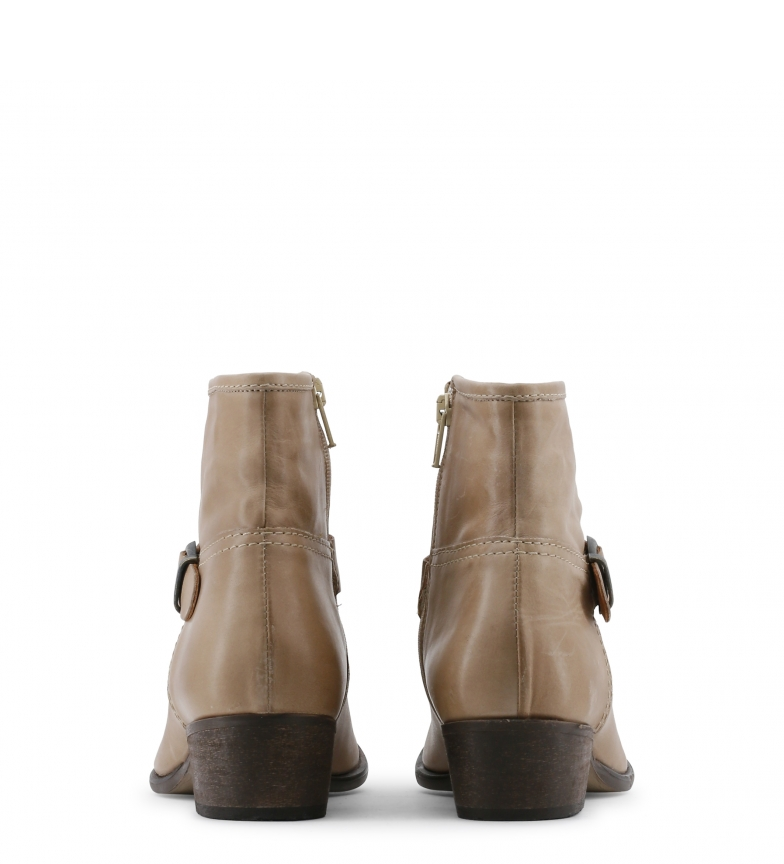 Botines piel marrón Toscani de Arnaldo color qtA5xXTw