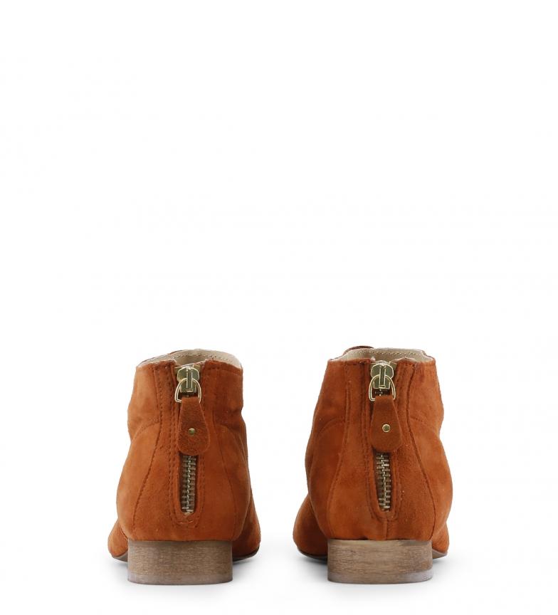 Botines Toscani marrón de color Arnaldo piel BfpRxpU