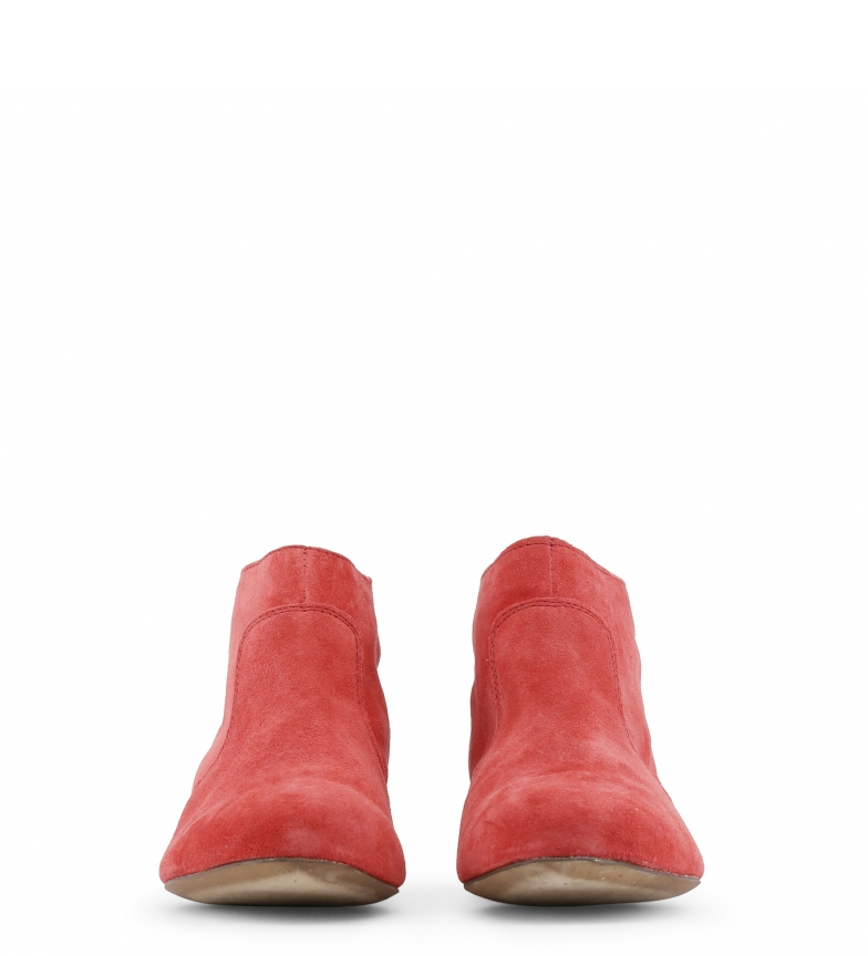 piel de Toscani rojo color Botines Arnaldo tqHxt