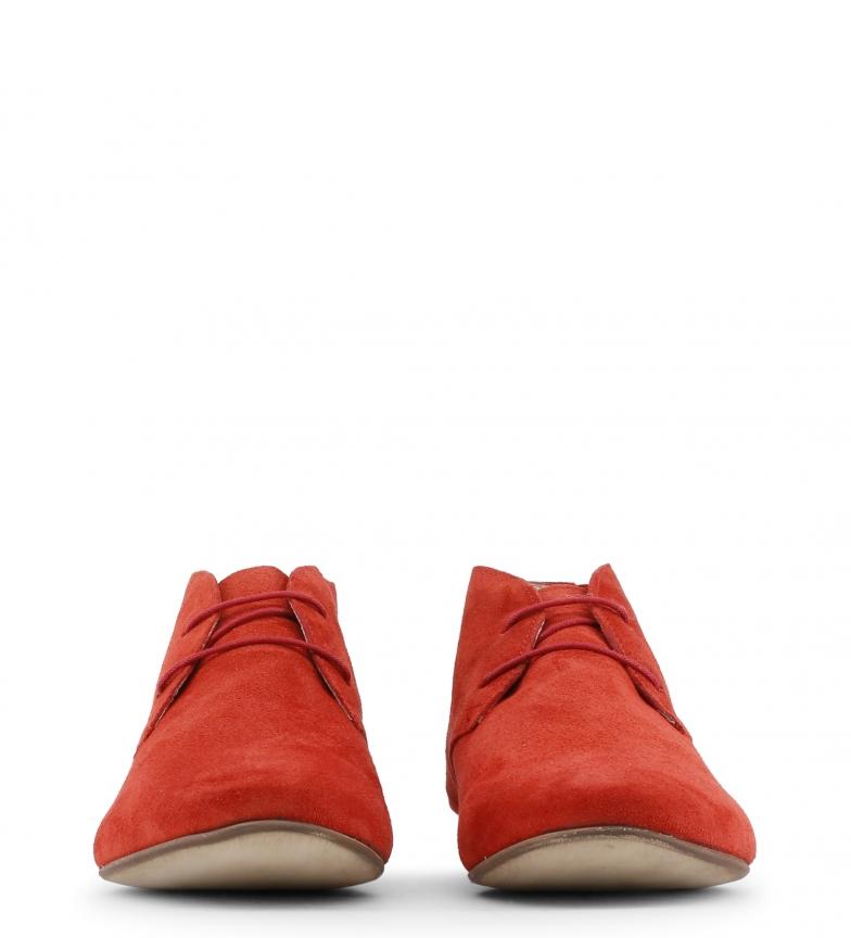 Botines rojo piel de Toscani color Arnaldo z1BqZxn