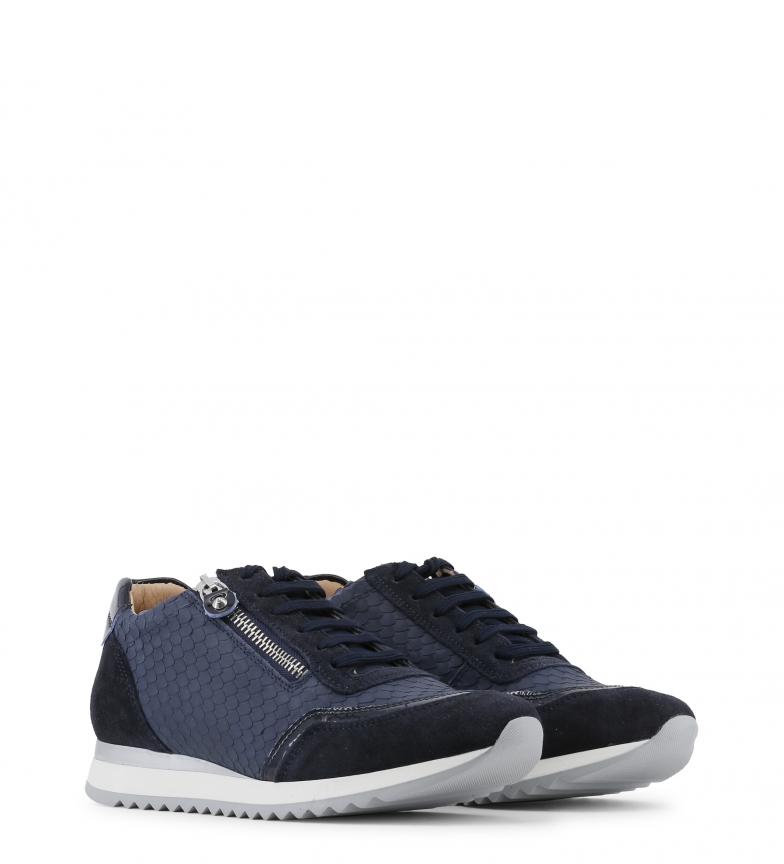 piel Toscani de Arnaldo color azul Sneakers qzwEdOt