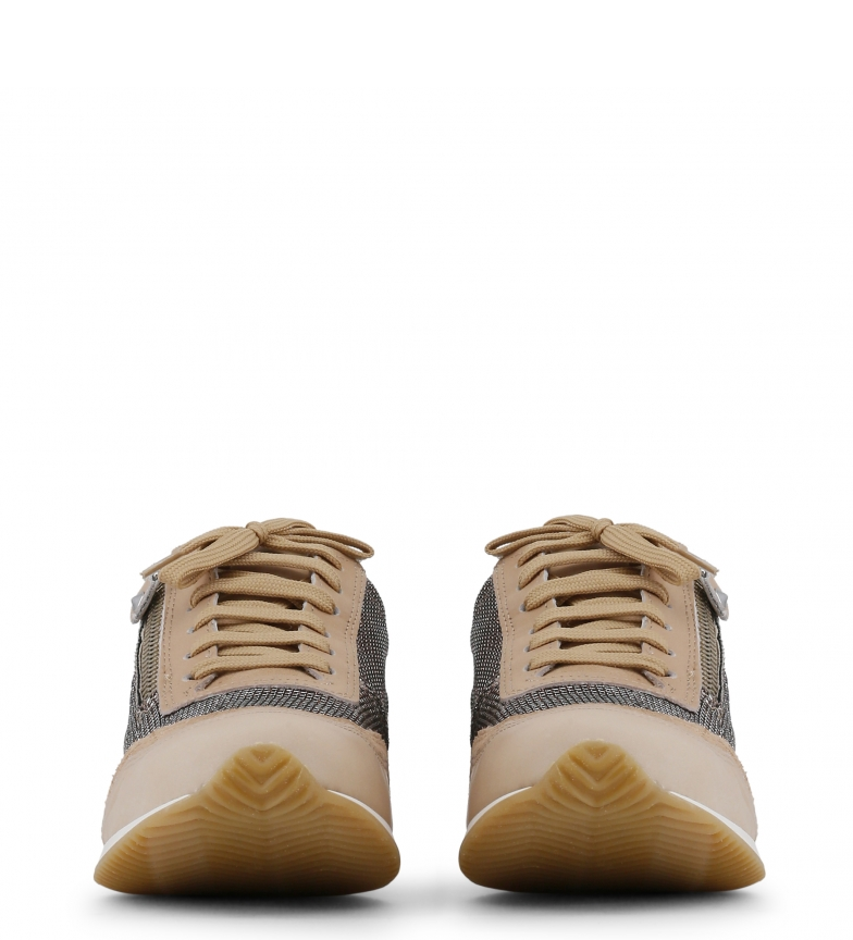 Sneakers marrón color Arnaldo piel Toscani beige Toscani de Arnaldo BpnBwtxq06